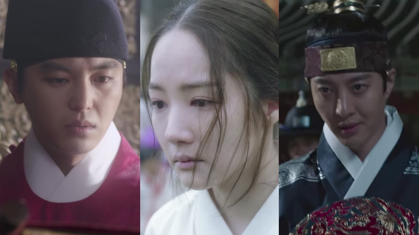 "Watch: KBS's New Historical Drama ""Queen For 7 Days"" Releases Individual Character Teaser Videos"
