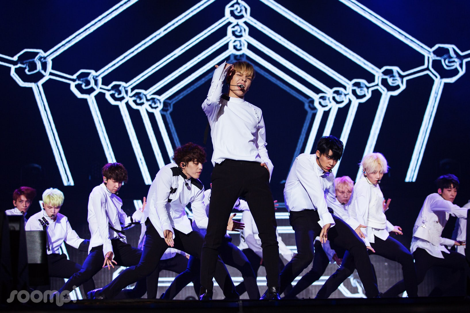Exclusive: SEVENTEEN Reveals Powerful And Charismatic Side To The Group At Comeback Showcase Al1