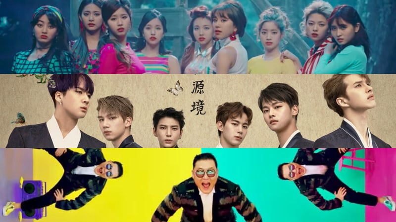 TWICE, VIXX, And PSY Rank High On Billboards World Albums Chart