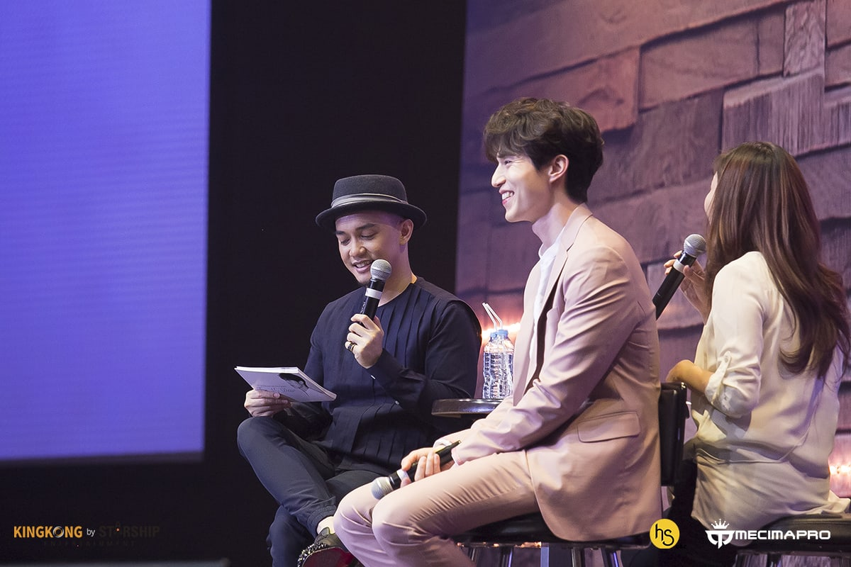 All The Best Moments From Lee Dong Wooks Jakarta Fan Meeting