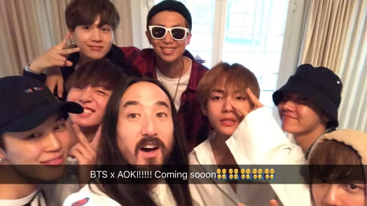 Musician Steve Aoki Hints At Possible Collaboration With BTS
