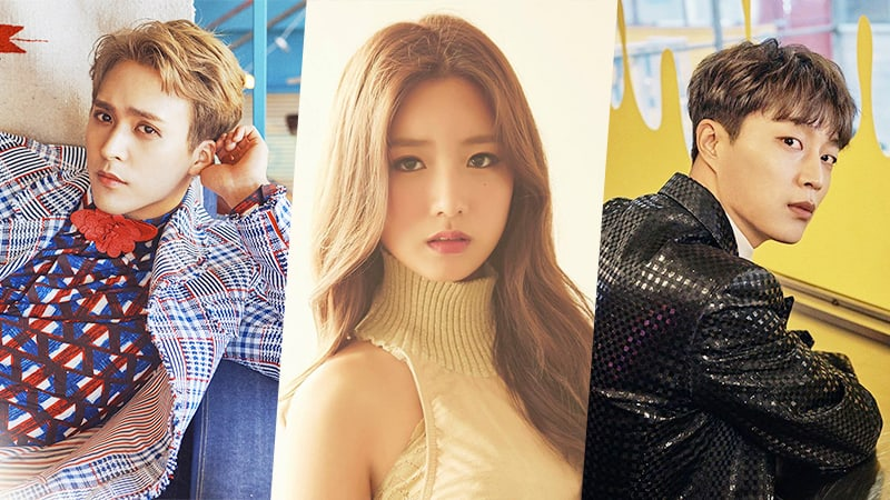 Highlights Yoon Doojoon, Son Dongwoon And Apinks Yoon Bomi To Appear On Happy Together