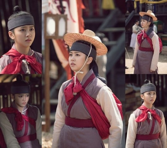 Kim So Hyun Disguises Herself As A Man And Lee Chae Young Makes Her First Appearance In Ruler: Master Of The Mask Stills