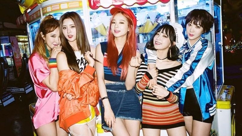 EXID Announces Official Colors