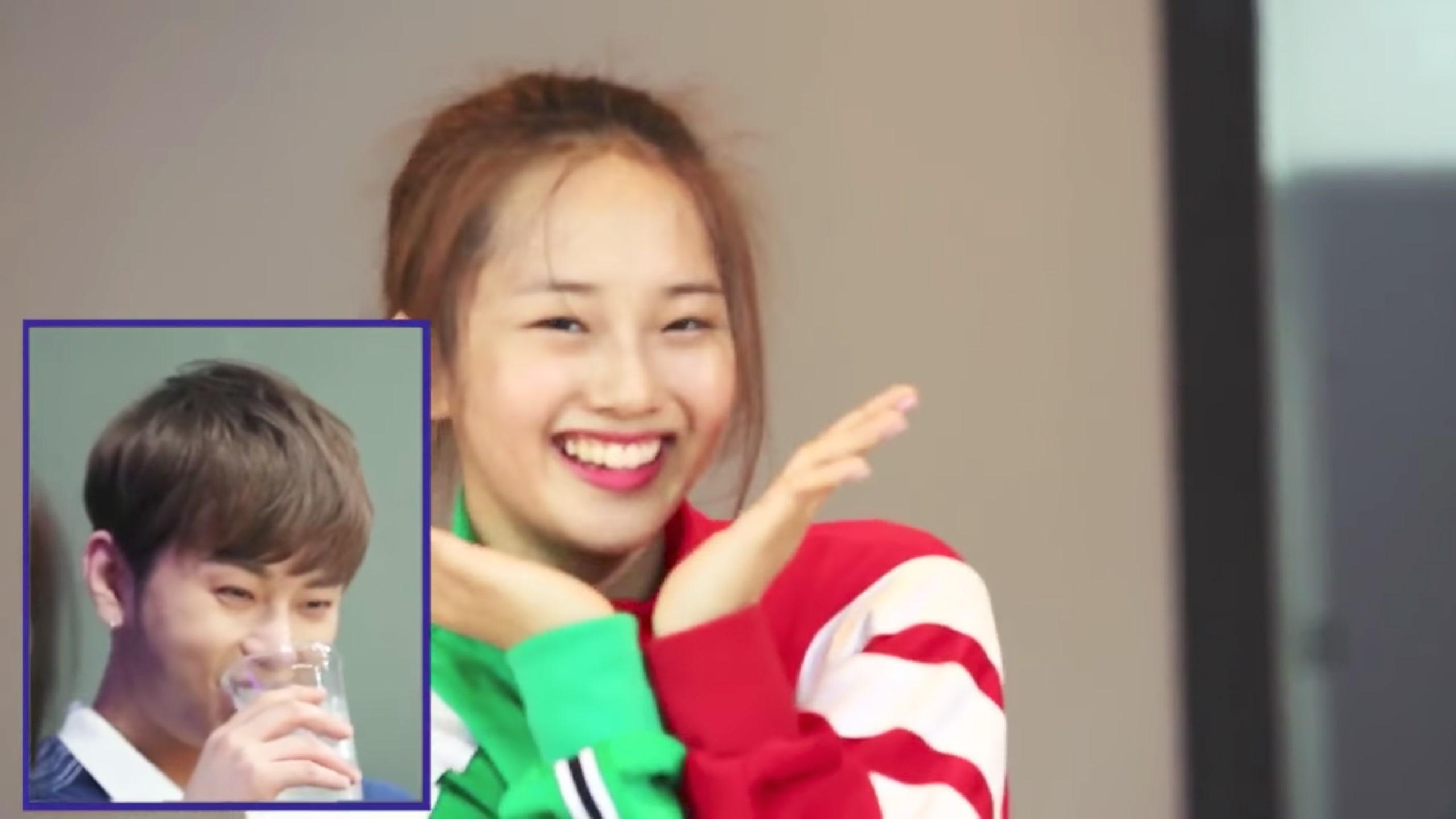 "Watch: Highlight's Yong Junhyung Reacts To Kriesha Chu's Dance Cover Of ""Plz Don't Be Sad"""