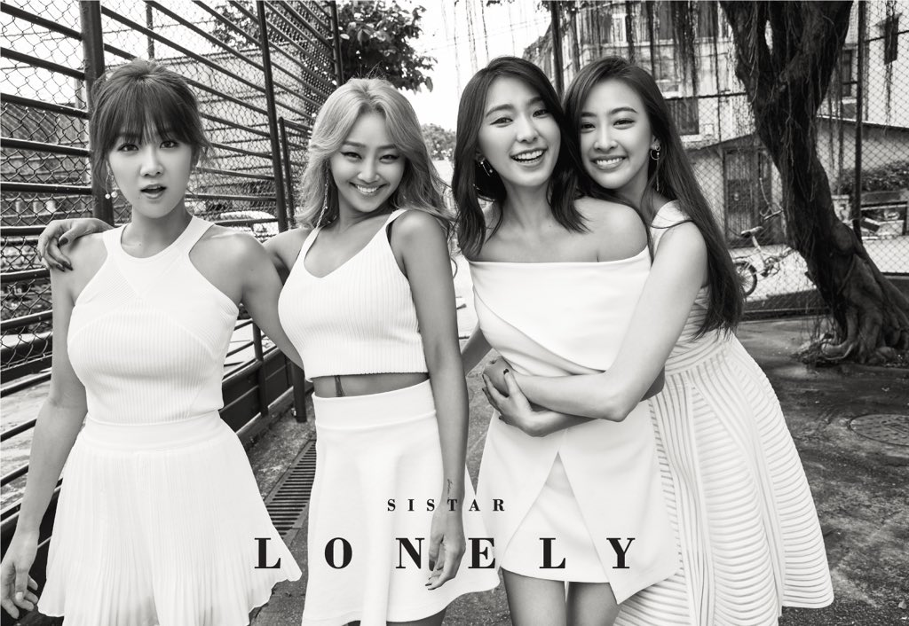 """SISTAR Shows Their Close Friendship In Concept Photos For Final Song """"Lonely"""""""