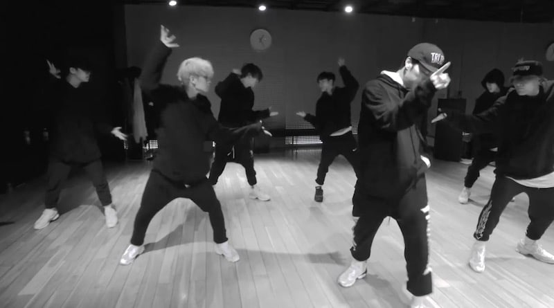 "Watch: iKON Drops Dance Practice Video For ""BLING BLING"""
