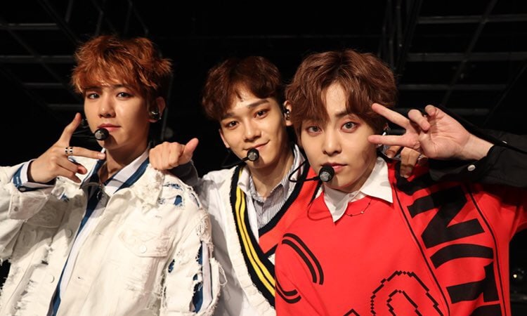 EXO-CBX's Japanese Debut Album Sees Impressive Number Of First Day Sales + High Ranking On Charts