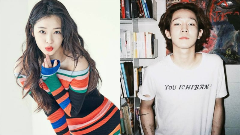 Sulli Shows Her Support For Close Friend Nam Tae Hyun