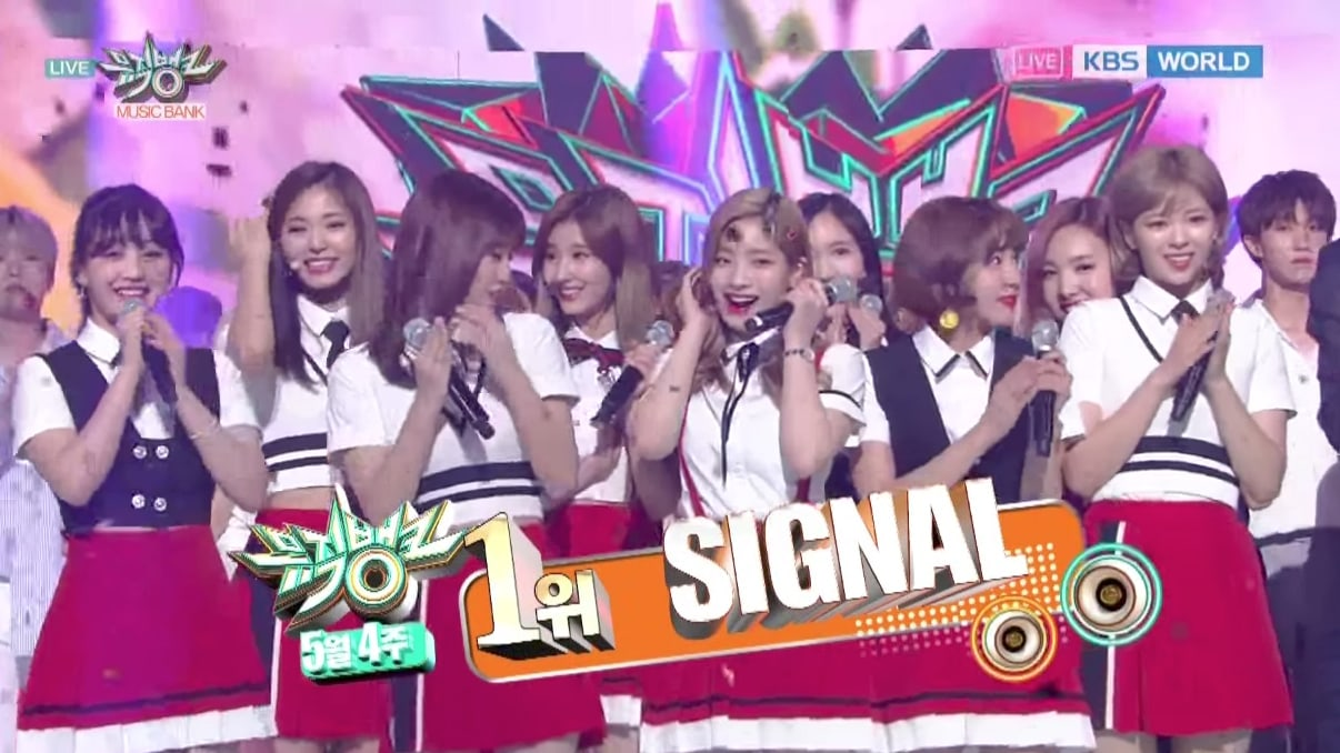 Watch: TWICE Takes 3rd Win For Signal on Music Bank, Performances By SEVENTEEN, VIXX, And More