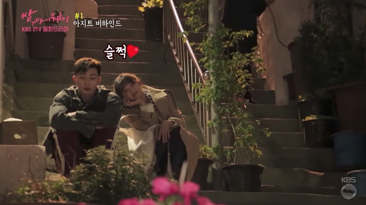 Watch: Park Seo Joon And Kim Ji Won Have Fun In First Behind-The-Scenes Video Of Fight My Way