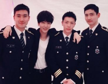 Super Junior Choi Siwon Yesung Donghae TVXQ Changmin