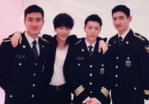 Super Juniors Yesung Shares Photo From Reunion With Choi Siwon, Donghae, And TVXQs Changmin