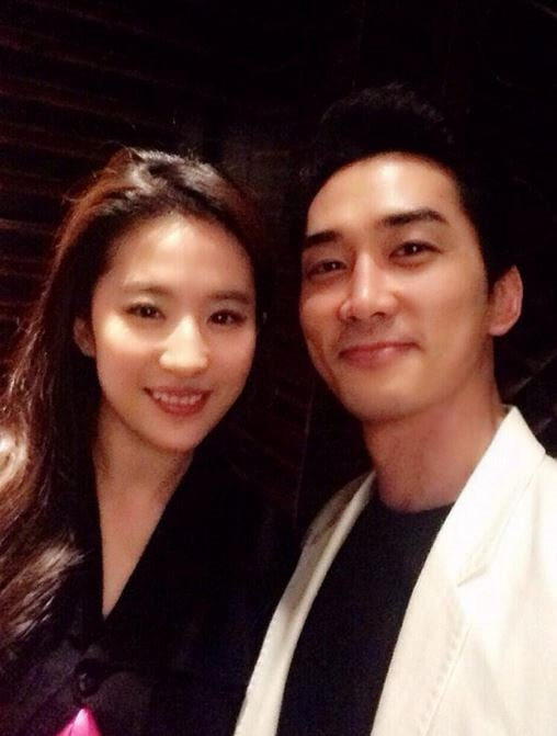 Song Seung Heon's Agency Addresses Rumors About Breakup With Liu Yi Fei