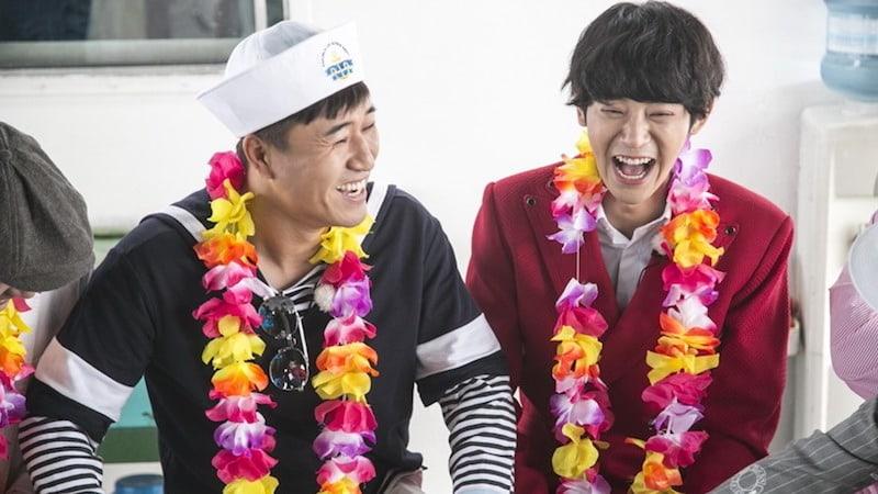 """Kim Jong Min And Jung Joon Young Rekindle Bromance On """"2 Days & 1 Night"""""""