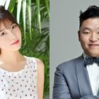 """PSY Reveals What He Had To Do To Get IU To Guest On """"Fantastic Duo 2"""" With Him"""