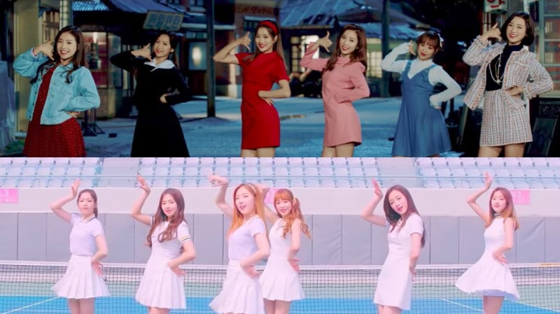 "Watch: APRIL Shows Two Different Charms In MVs For ""MAYDAY"" And ""Lovesick"""