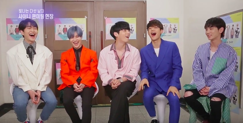 SHINee Teases Key About His Fashion + Reveals Why Onew Is The Best Member To Get Advice From