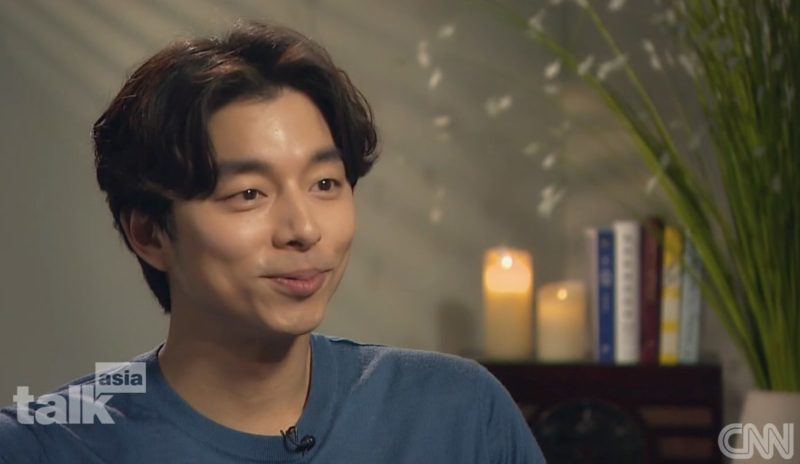 Gong Yoo Candidly Talks About His Fame In CNN Interview