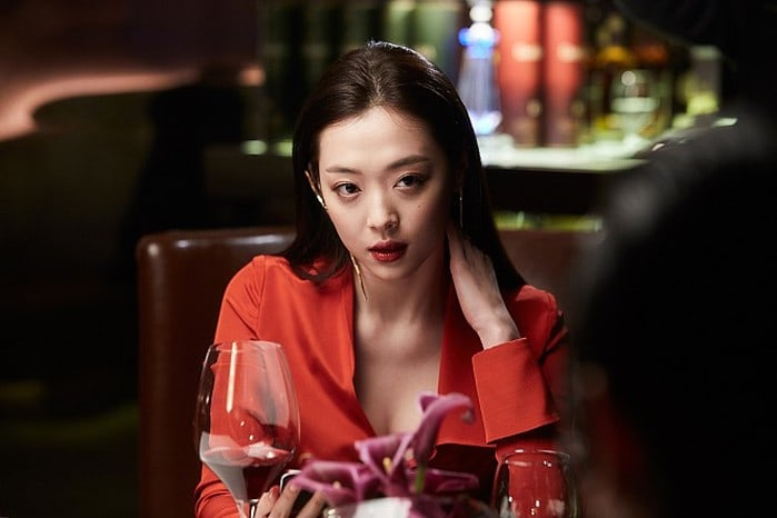 """Sulli Transforms Into Sexy Character In New Still For Upcoming Movie """"Real"""""""