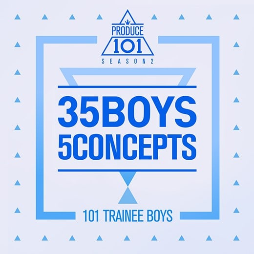 """Watch: """"Produce 101 Season 2"""" Holds Concept Challenge With Original Songs + Rankings"""