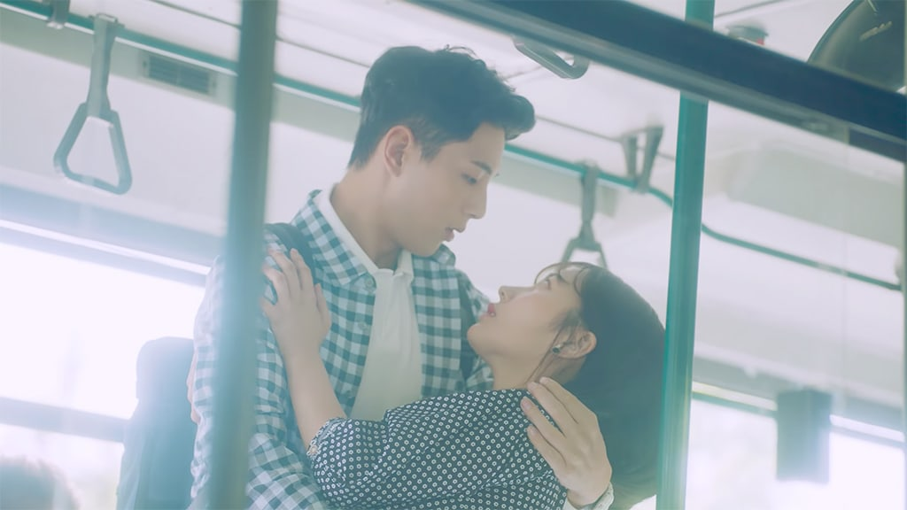 "Watch: gugudan's ""Perhaps Love"" MV Tells The Story Of A Budding Romance, Starring Actor Ji Soo"