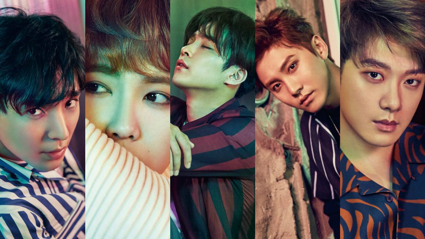 FTISLAND Shares Striking Teaser Photos For 10th Anniversary Album