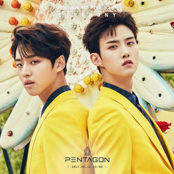 "PENTAGON's Hongseok Explains Why He Was Paired With Yeo One For ""Twins"" Concept"