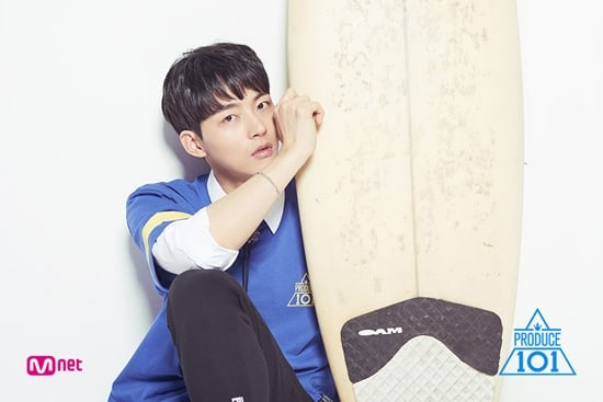 """Former """"Produce 101 Season 2"""" Trainee Park Sung Woo Reveals Which Trainees He's Rooting For"""