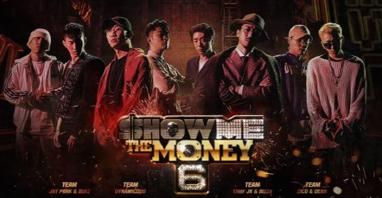 """Show Me The Money 6"" Reveals Cool Infographic That Maps Out Producers' Music Careers"