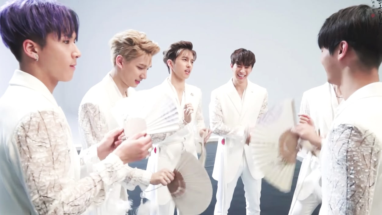Watch: VIXX Shows The Cheerful Flip Side Of Dramatic Shangri-La MV In New Behind-The-Scenes Video