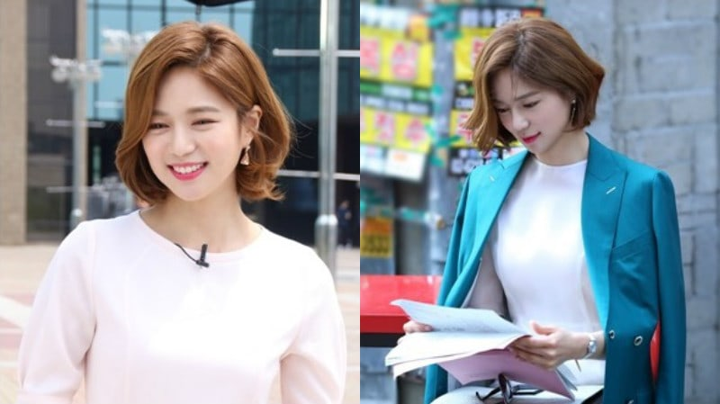 Lee Elijah Maintains Her Elegant Look Behind The Scenes Of Fight My Way
