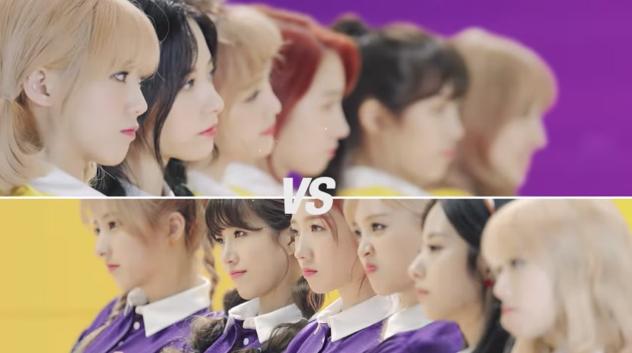 """Watch: Cosmic Girls Prepares For An Epic Dodgeball Fight In Teaser For """"Happy"""" Music Video"""