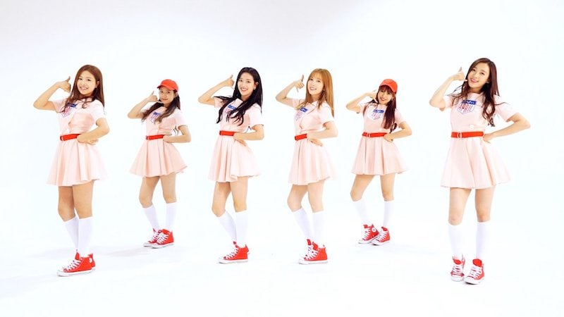 Watch: APRIL Releases Charming Choreography Video For MAYDAY