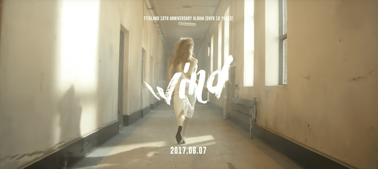 Watch: FTISLAND Drops First Teaser For Wind MV Off 10th Anniversary Album