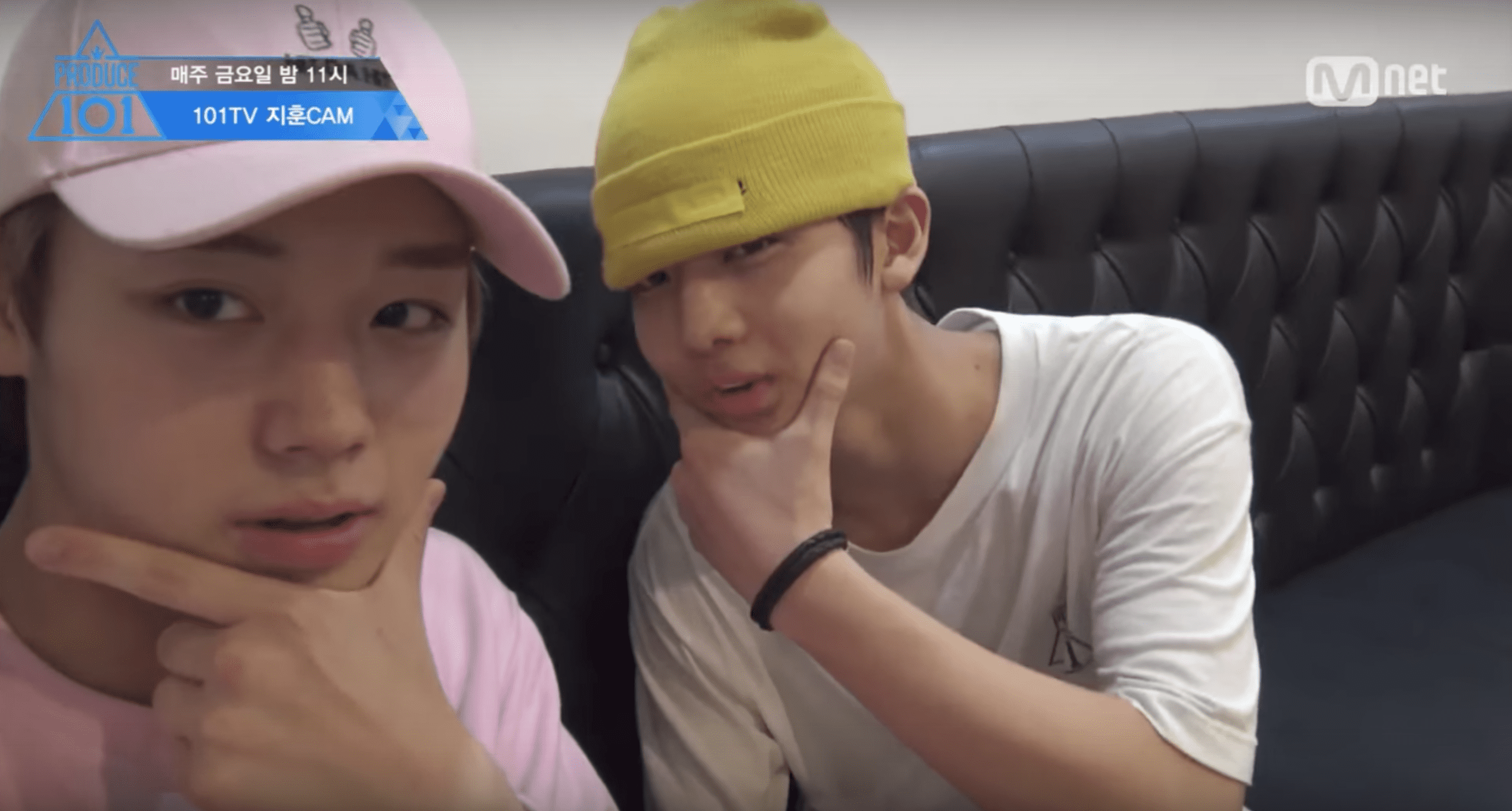 "Watch: ""Produce 101 Season 2"" Trainees Talk About Skin Care And Search For Their Look-Alikes In Self-Cam Video"