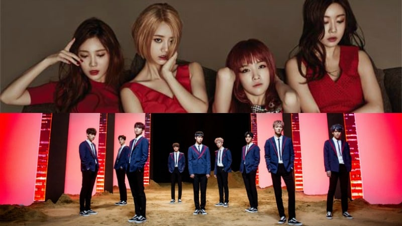 SF9 And Girls Day Are First In Lineup For KCON 2017 LA