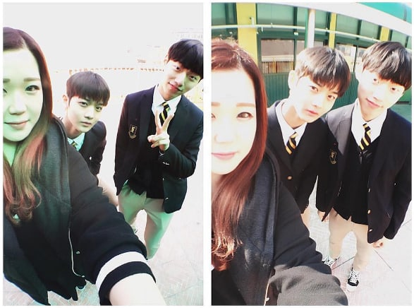 """Homeroom Teacher Of """"Produce 101 Season 2"""" Contestants Bae Jin Young And Yoon Jae Chan Shows Support For Her Students"""