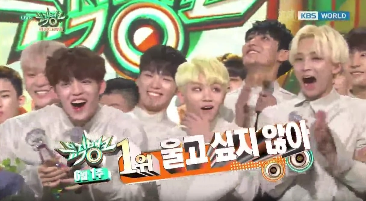 Watch: SEVENTEEN Takes 2nd Win For Dont Wanna Cry On Music Bank, Performances By SISTAR, VIXX, TWICE, And More