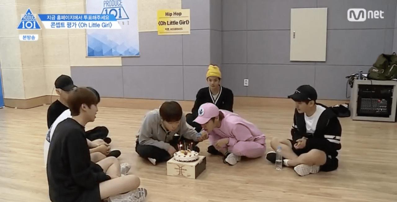 """Produce 101 Season 2"" Trainees Prepare A Unique Way Of Celebrating Teammates' Birthdays"