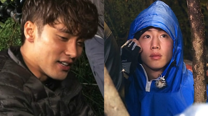 Sung Hoon And GOT7s Mark Sacrifice Sleep For The Cast of Law Of The Jungle