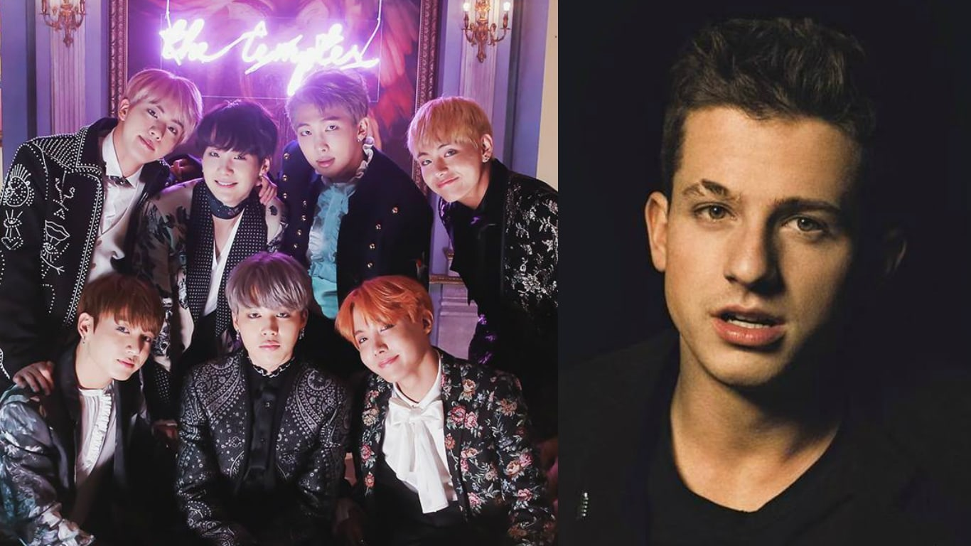 Charlie Puth Says He Wants To Meet BTS And Apologize To Jungkook For Name Mistake