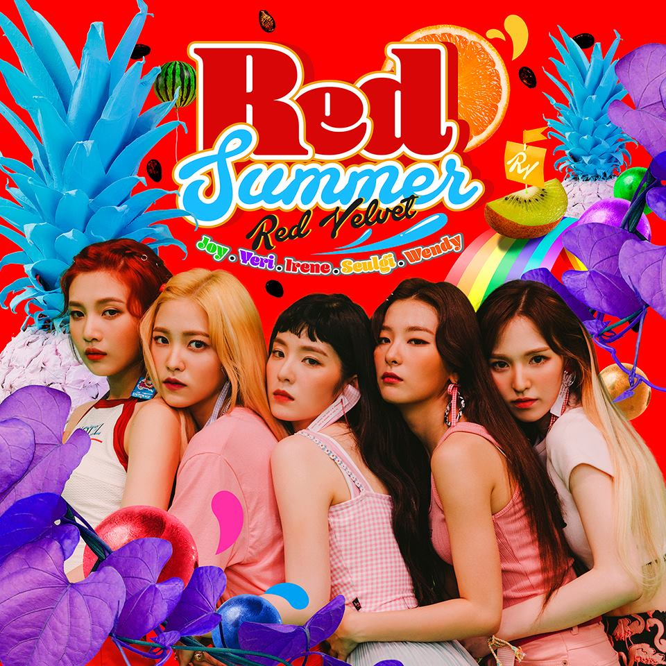 """Update: Red Velvet Unveils Format And Design Of """"The Red Summer"""" Album"""
