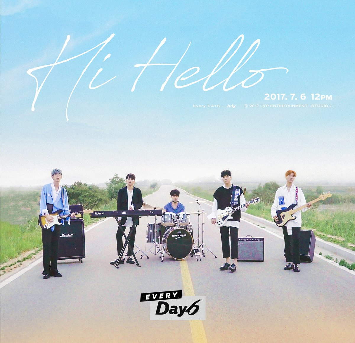 """Update: DAY6 Embraces Soft, Summer Vibes With Latest Teaser Video For """"Hi Hello"""""""