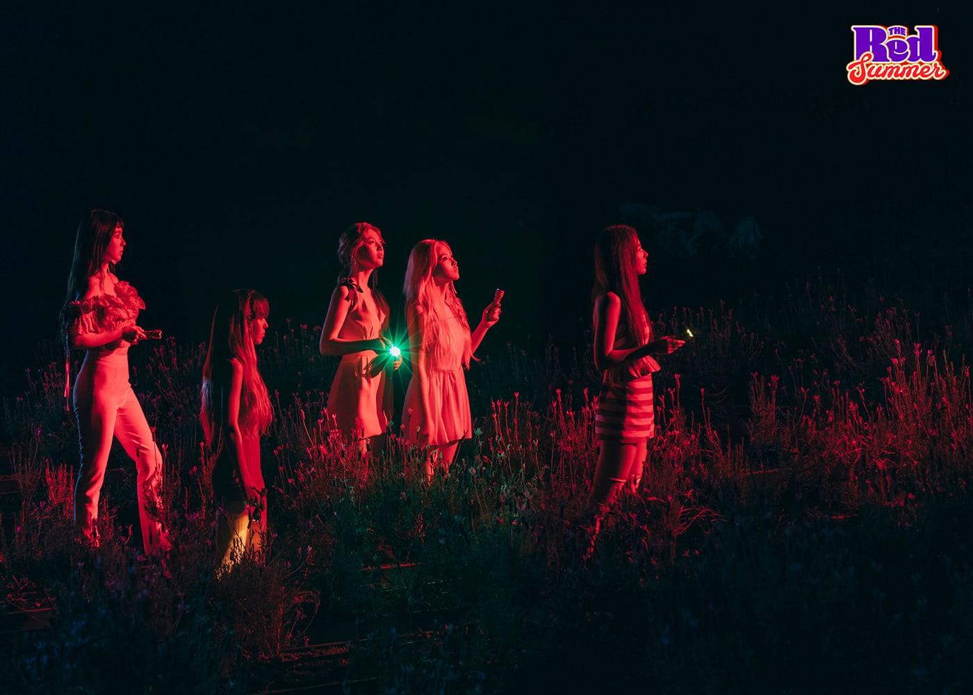 "Update: Red Velvet Shares Another Eerie New Teaser Image For Comeback With ""The Red Summer"""