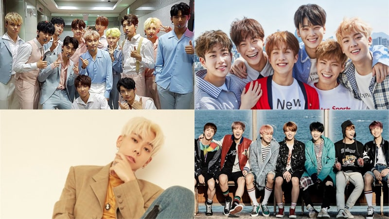 SEVENTEEN, ASTRO, Loco, And BTS Grab Spots In Top 10 Of Billboards World Albums Chart