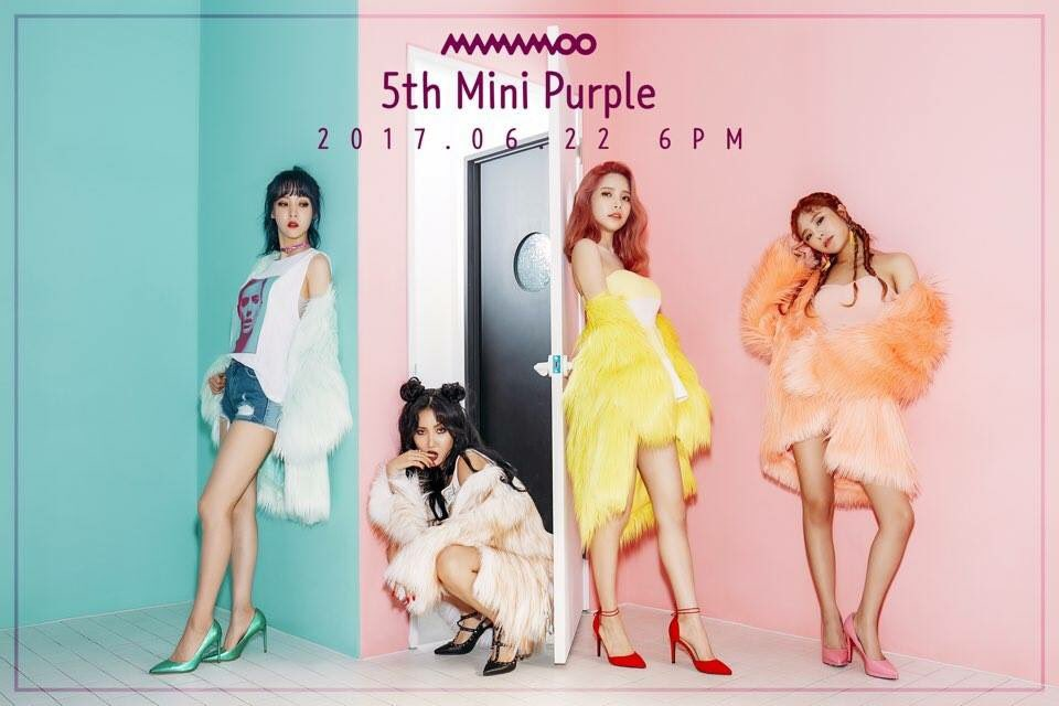 MAMAMOO Teases Comeback With Mini Album Purple