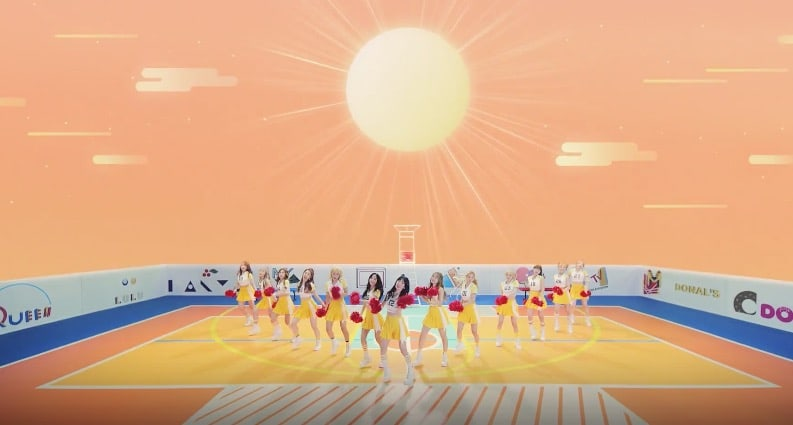 Watch: Cosmic Girls Members Are Energetic Cheerleaders In New MV For Happy
