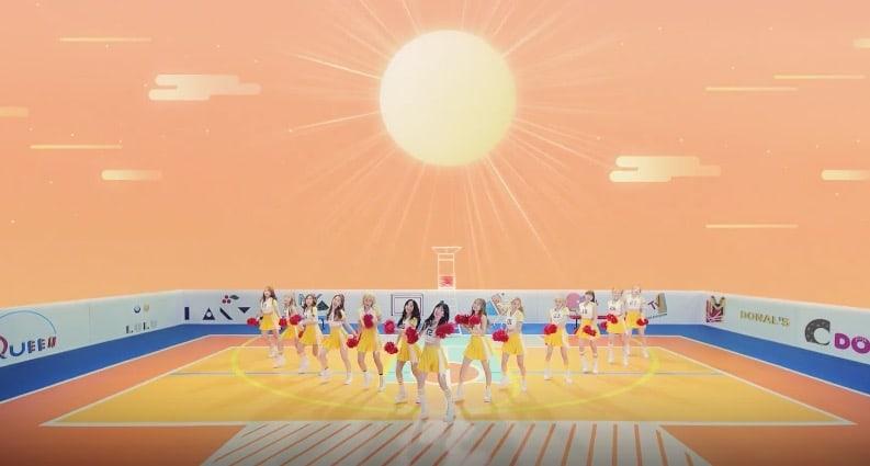 """Watch: Cosmic Girls Members Are Energetic Cheerleaders In New MV For """"Happy"""""""