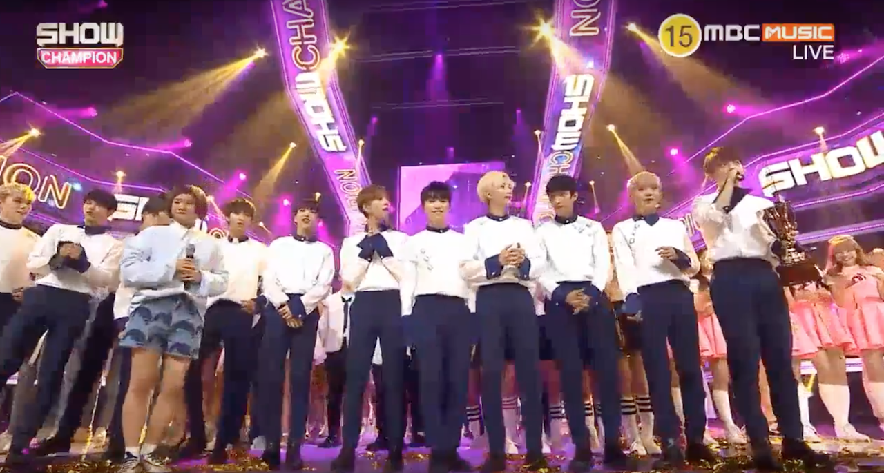 """Watch: SEVENTEEN Takes 3rd Win For """"Don't Wanna Cry"""" On """"Show Champion,"""" Performances By SISTAR, VIXX, ASTRO, And More"""
